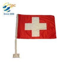 niedrigster Preis von roten Kreuzfahrradflaggen