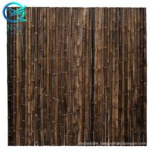 purple bamboo garden bamboo fence wave screen cheap price