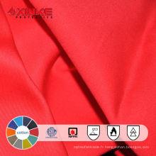 Tissu ignifuge de denim de coton pour des vêtements de travail