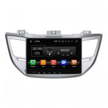 Graue Abdeckung TUCSON IX35 2015 Auto DVD-Player