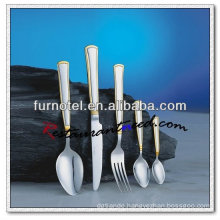 T270 High Quality Hotel Gold Plated Royal Flatware And Cutlery