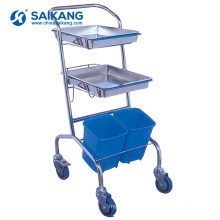 SKH030 Luxury Medical Treatment Aluminum Cases Trolley