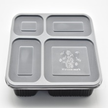 High Quality PP Plastic Fast Food Container for Packaging