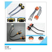 Chicote de fios personalizado do fio do conector de Pin 2 auto