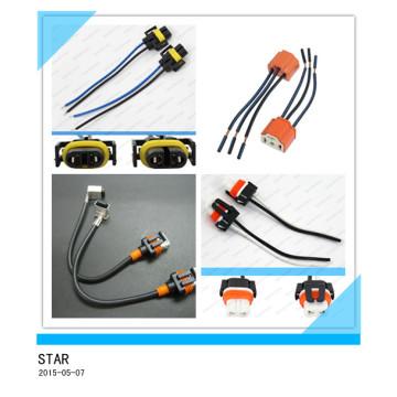 Kundengebundener 2 Pin Connector Auto Kabelbaum