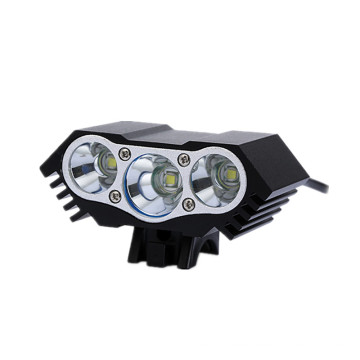 4 Modes Waterproof White LED Bike Lamp Light