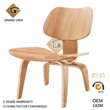 Silla de madera salón de Eames (GV-LCW 003)