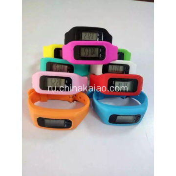Silicone Watch Strap Step Calorie Time Calculate