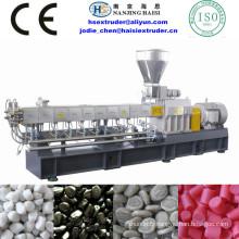 HS nouveau lancé les machines en plastique TSE série Counter-rotating
