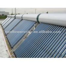 2014 Nuevo tipo de tubo de vacío compacto Calentador solar de agua caliente con bobina de cobre (30 tubos)
