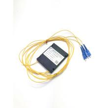 PLC 1*2 ABS BOX splitter sc upc connector