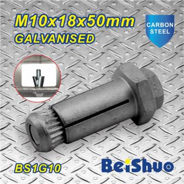 M10X18X50mm Hex Anchor Bolt Grade 12.9 for Steel Construction