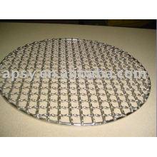 Malha de grelha de churrasco em aço galvanizado ou inoxidável