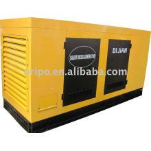 Générateur super insonorisant refroidi à l'eau avec moteur diesel Shangchai