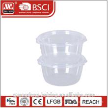 Fibra natural eco lancheira para microondas, recipiente de alimento seguro de microondas material de casca de arroz