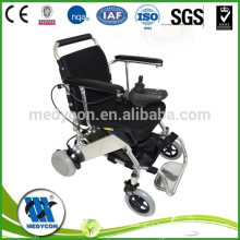 Luxury Automatic Battery Powered Lightweight Folding Wheelchair,100kg