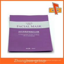 Drei-Seiten-Dichtung Gesichtsmaske Kunststoff laminiert Taschen, Make-up-Verpackung Tasche