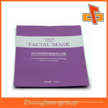 Три стороны уплотнения лицевой маски пластиковые ламинированные мешки, макияж мешок упаковки