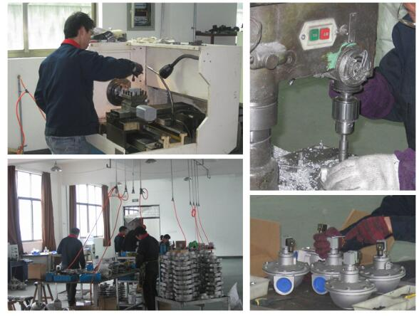 Machining & testing of DMF-Z-62S electromagnetic pulse valve For Ceramic Fiber Dust Collector