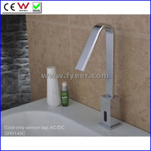 High Quality Solid Brass Cold Only Automatic Sensor Faucet (QH0143C)