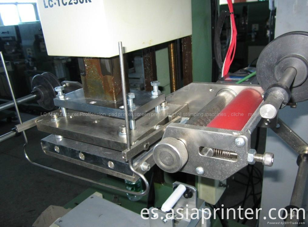 hot stamping machine for round bottle