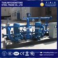 Horizontal gas fire thermal oil furnace