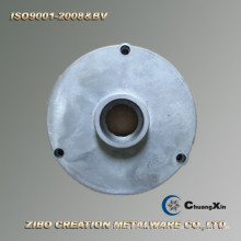 Части литого алюминия Крышка заливки формы для ветротурбины