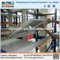 Estante de armazenamento de chapa de aço leves ajustável