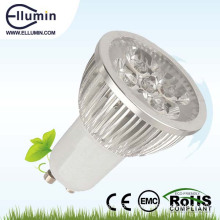 high lumen gu10 led spot light 4w with ce rohs