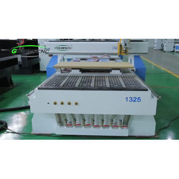 High quality 1325 4 axis woodworking cnc router for surfboard