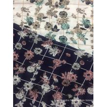 Rayon Crepe 3024S Printing Woven Fabirc