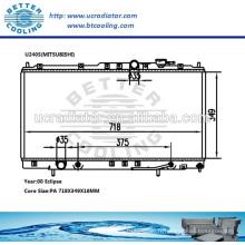 Radiateur de voiture japonais pour MITSUBISHI ECLIPSE 00 AT OEM: MR373098