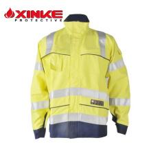 comfortable orange athletic works jacket