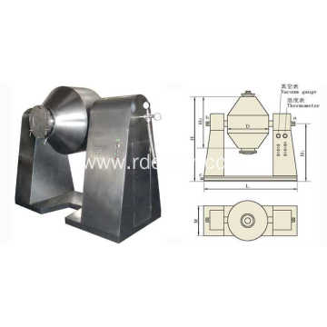 Hot Sale Low Cost Square Cone Mixer