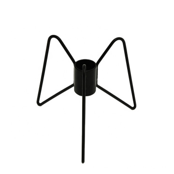 New Modern Style Black Metal Candlesticks Wedding Decoration Candlestick Home Decor Party Candle Holders