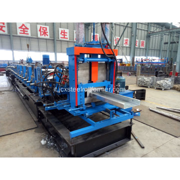 C Purpped Channel Purlin Machine