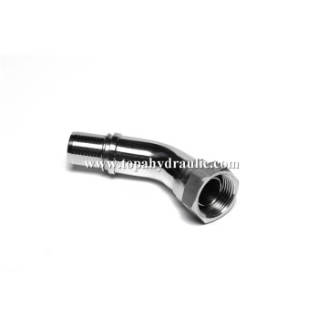 Hydraulic an fittings hose nipple pvc hose