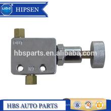 Válvula proporcional do freio ajustável do estilo do botão do cromo APV-1 C