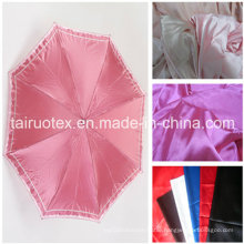 100% Poly Satin with Waterproof for Umbrella Fabric