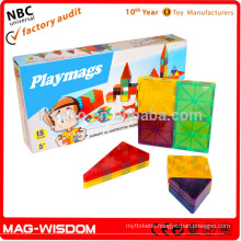 Magnetic Building Construction Tile Blocks Magna Tiles 18pcs