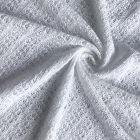 linen viscose fancy blended knitting fabric