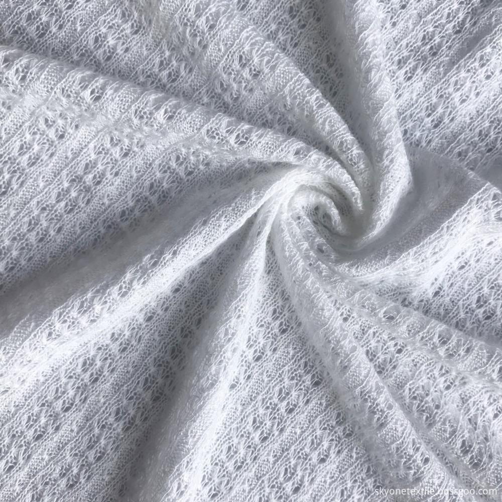 linen viscose jacquard fabric 1