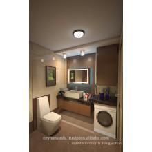 Manucure d'usine LUCCART Vanité de salle de bain avec porte plaquée