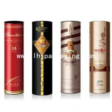 High Quality Round Wine Packaging Gift Box