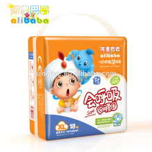 2015 Novo OEM Descartável Soft Breathable Adulto Big Baby Diaper Punishment