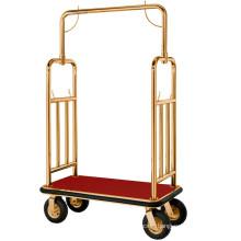 Good Quality Brass Hotel Trolley (DF51)