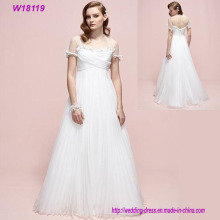 Made in China Plus Size Sexy Full Tulle Cheap Wedding Dresses