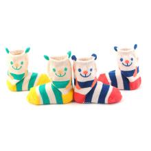 2016 Vente Chaude Qualité Coton 3D Bébé Animal Chaussettes