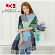 Thicken Winter Women Fashion Plaid Scarf Brand Ladies Shawls Warm Cape