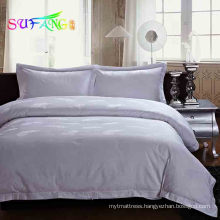 Hotel bedding/Italian hotel satin stitch bedding collection for hotel/home with full package service for Amazon